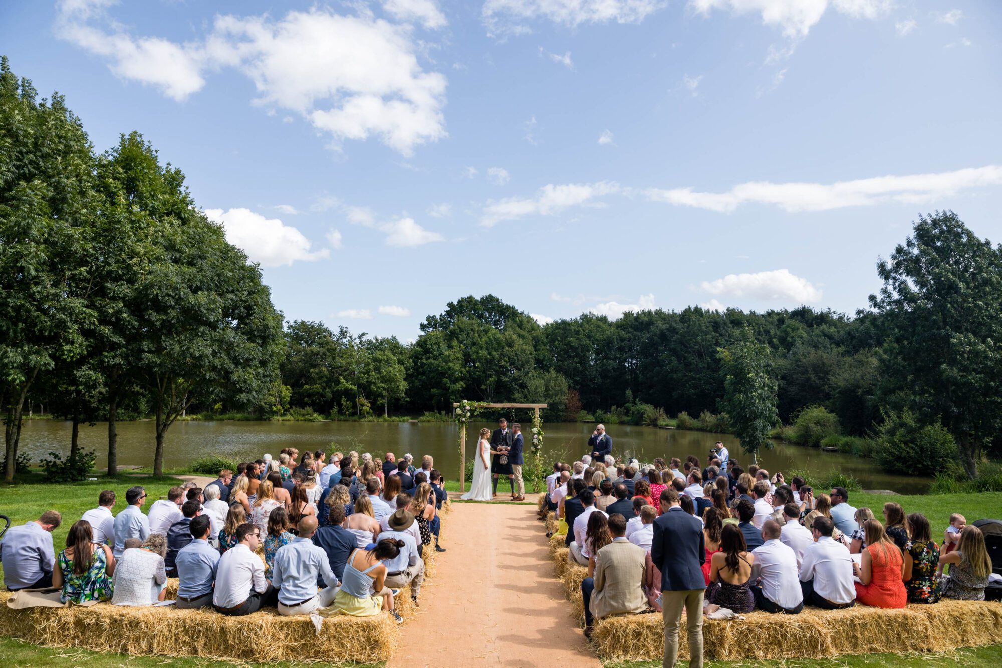 Sarah & Jack's Wedding at Elmbridge Farm